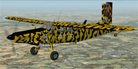 KLU PC-6C NTM in flight.