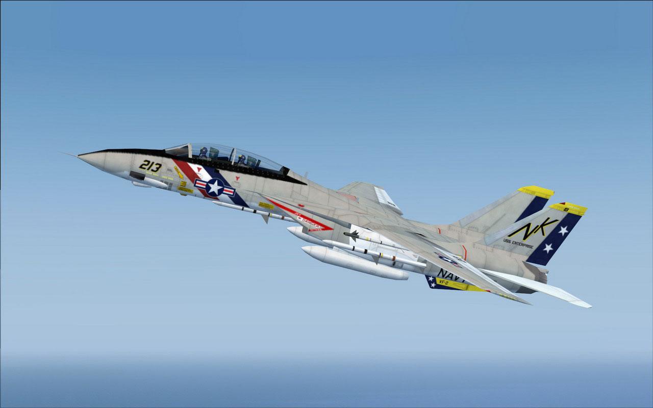 Grumman F-14 Tomcat aicraft carrier