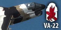 US Navy LTV A-7E.