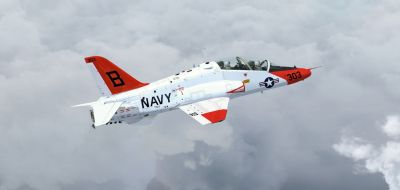 Acceleration Boeing/BAe T-45C Goshawk in flight.
