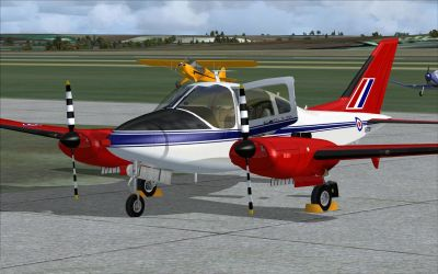 Acceleration RAF Beagle Basset CC1.