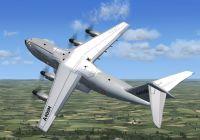 Airbus A400M in flight.