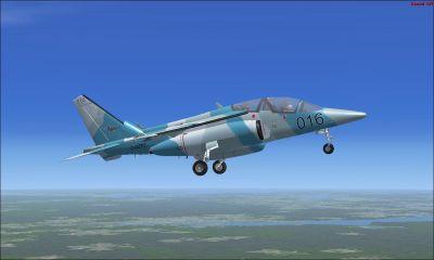 Alpha Jet Top Aces in flight.