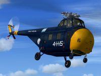 Argentinian Navy S-55 in flight.