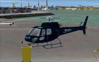 Auckland Police AS350 B3 'Eagle'.