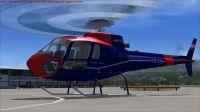 Austria Flugpolizei Ecureuil Helicopter.
