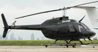 Photograph of Bell 206 VH-ONE.