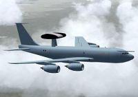 Boeing E-3D Sentry AWACS in flight.