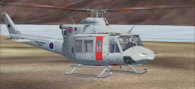 Cera Sim Bell 412 on the ground.