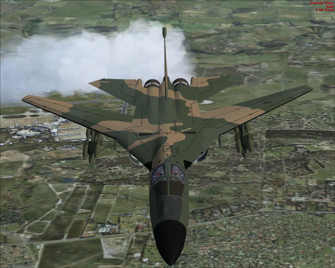 Combat Lancer V2 F-111 Pig HUD Project for FSX