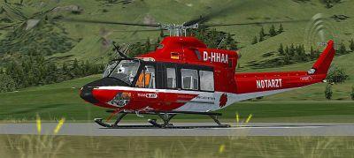 DRF-Luftrettung Bell 412.
