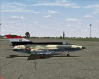 Egypt Air Force MiG-21MF.