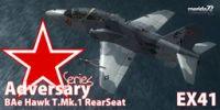 Hawk T. Mk1 - Adversary Series 'Rear Seat'.