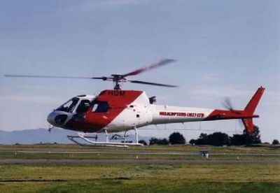 Photograph of Helicopters NZ Ltd AS350.
