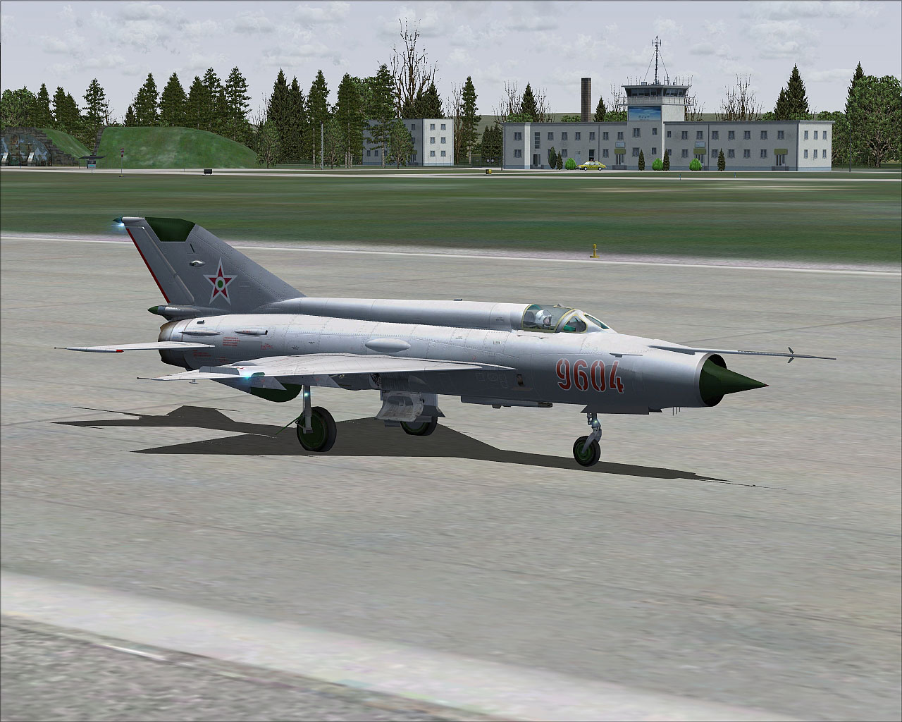 Hungarian Air Force MiG-21MF for FSX