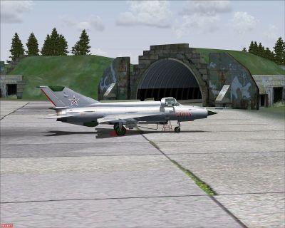 Hungarian Air Force MiG-21MF.