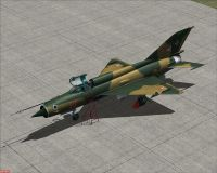 Hungarian Air Force MiG-21MF Red 49.