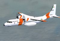 Irish Air Corps Casa 295 #250 in flight.