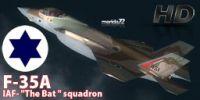 Israeli Air Force F-35A 'The Bat' Squadrons.
