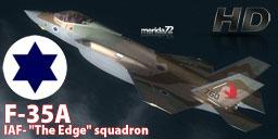 Israeli Air Force F-35A 'The Edge' Squadrons.