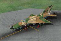 Libya Air Force MiG-21MF.