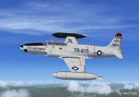 Lockheed RT-33A Photo Recon in flight.