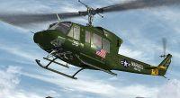 Marines HMM-263 Bell 212 in flight.