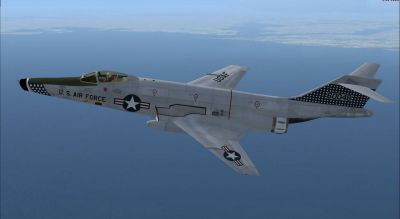 McDonnell RF-101C in flight.