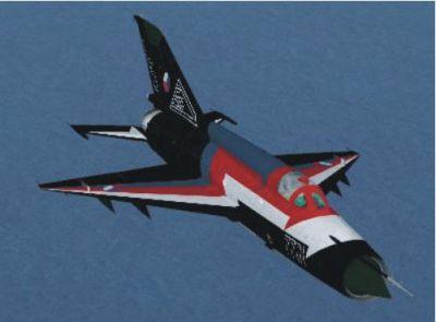 MiG-21 in flight.