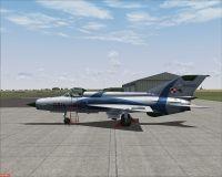 MiG-21MF '6814 Red'.