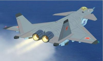 MiG-35 in flight.