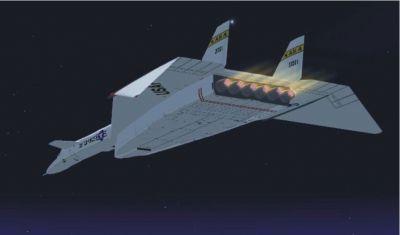 North American XB-70 Valkyrie in flight.