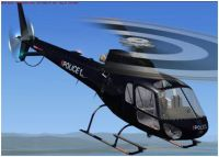 NZ Police EagleHelicopter in flight.