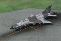 Polish Air Force MiG-21MF.