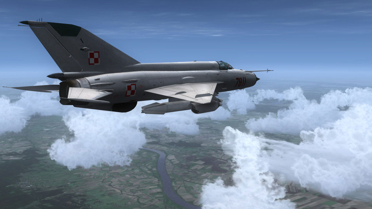 Polish MiG-21MF for FSX