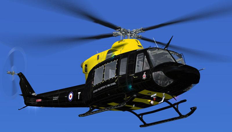 RAF Bell 412 ZJ237 for FSX