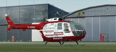 Rettungsflugwacht Bo 105.