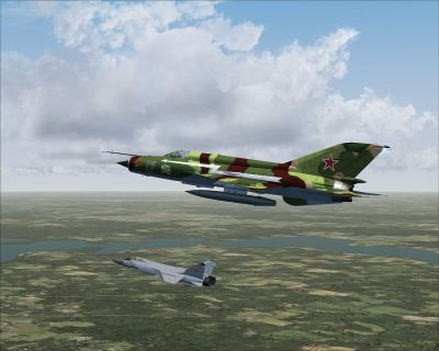 Russia Air Force MiG-21MF.