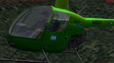 TACSA Robinson R22.