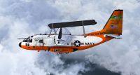US Navy Project Magnet EC-27J Spartan in flight.