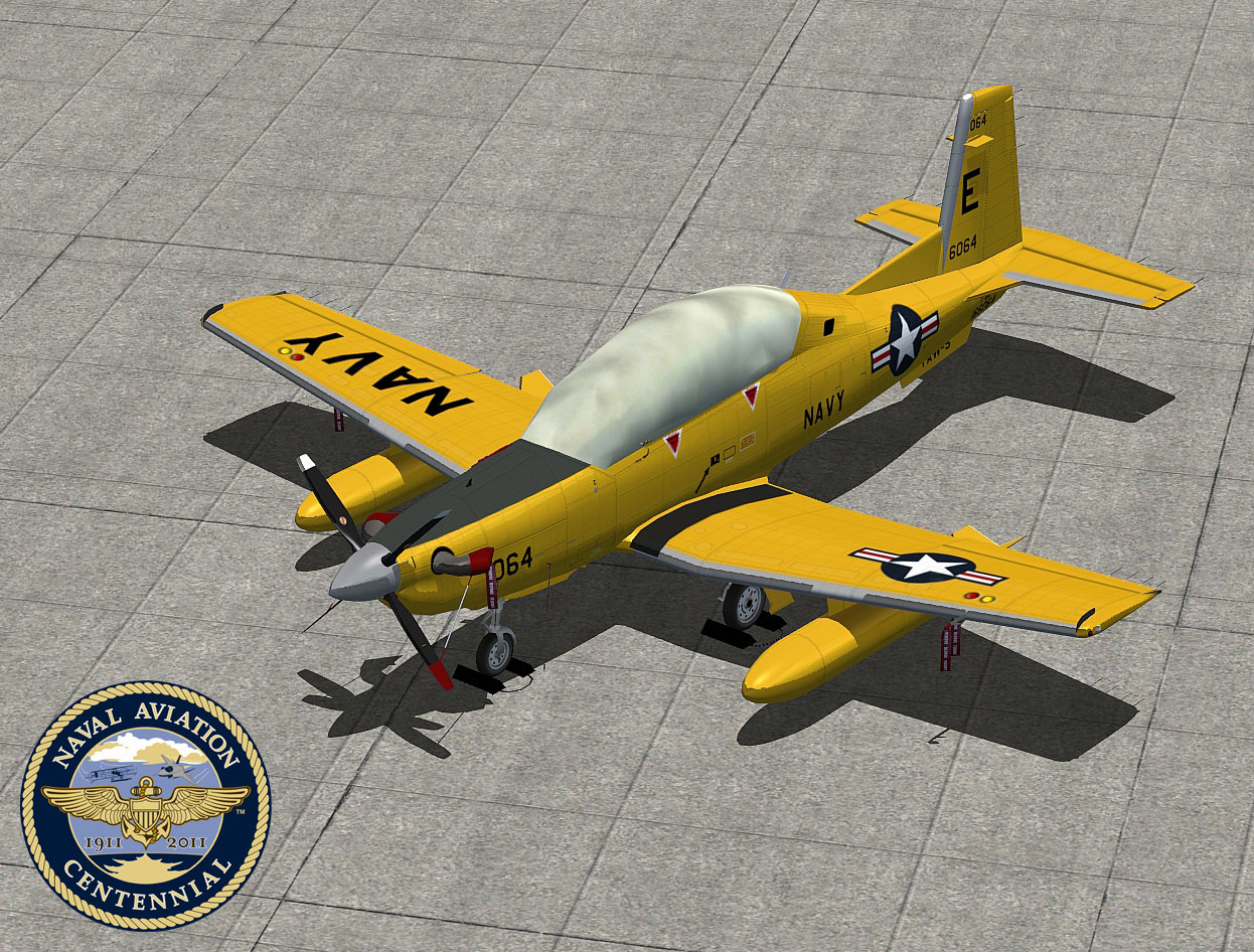 FSX - Iris Simulations T-6 Texan II Advanced