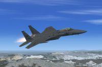 USAF F-15 Eagle 492 in flight.