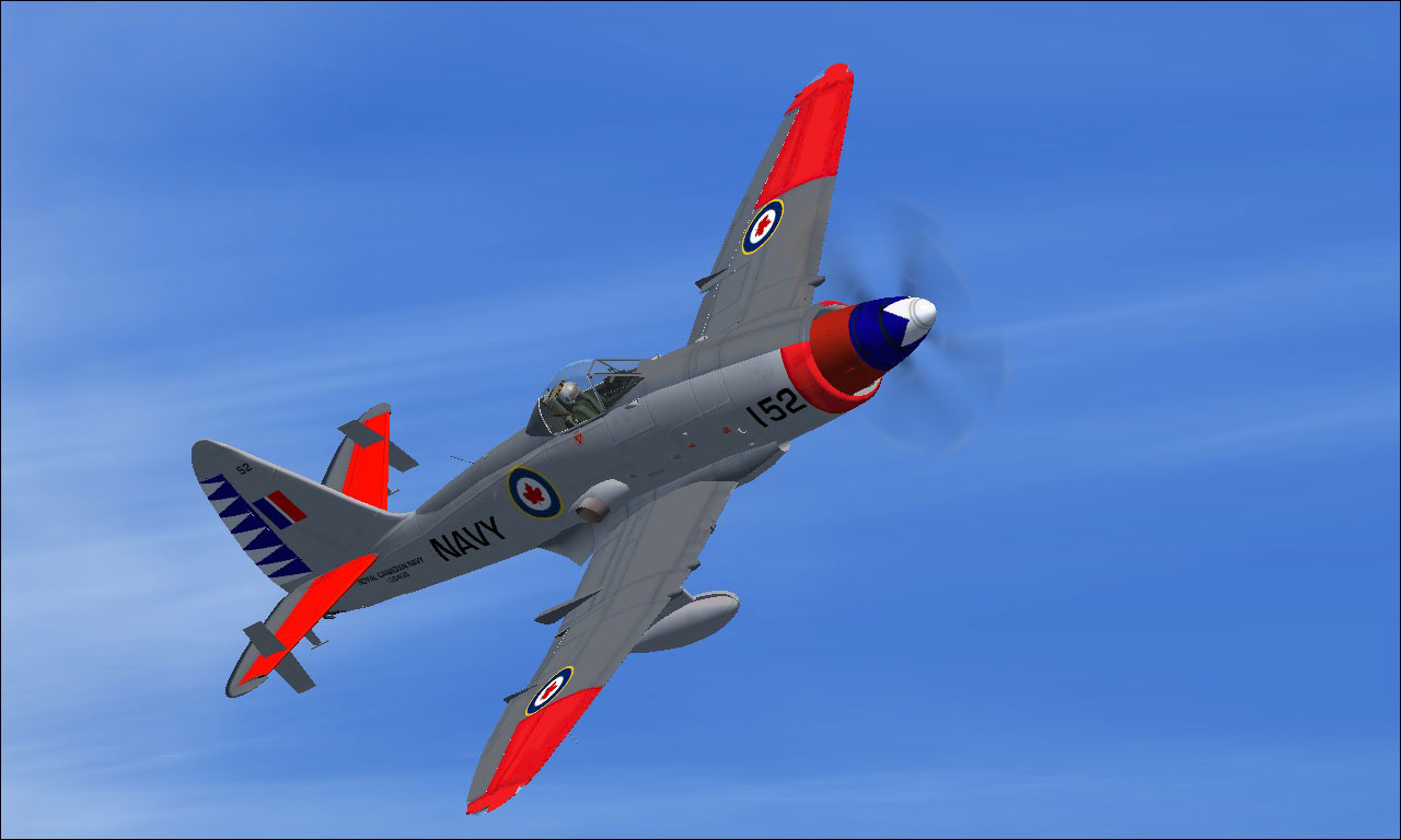 Westland Wyvern RCN VF-870 for FSX