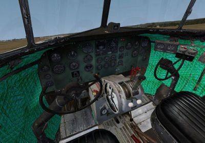 Douglas DC-3 New Virtual Cockpit.