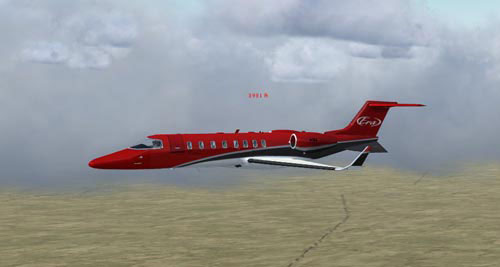 Era Learjet 45 for FSXC 17 Takeoff Video