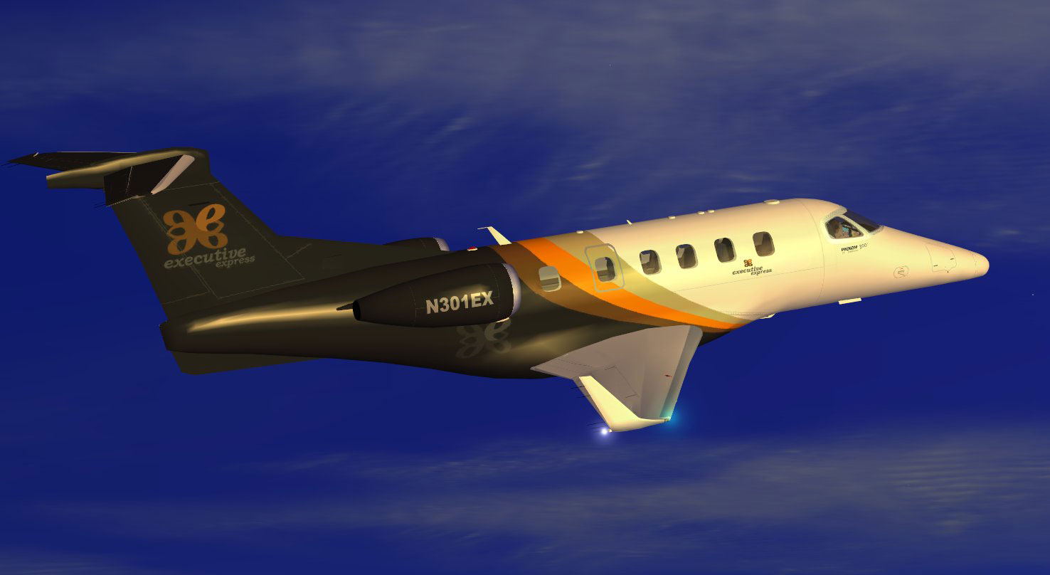 Executive Express Embraer Phenom 300 For Fsx