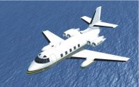 Lockheed Jetstar 2 in flight.