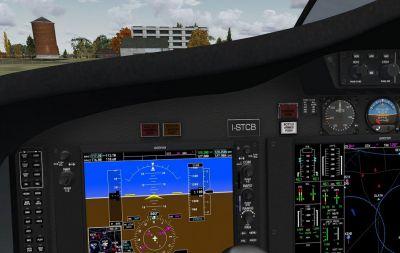 MyJet Citation 510 Mustang Cockpit.