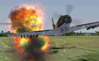 Acceleration Skyraider Bomb Mission.