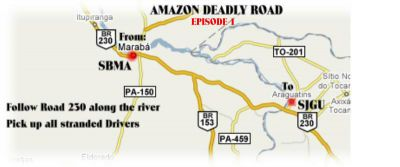 Amazones Deadly Road Adventure.